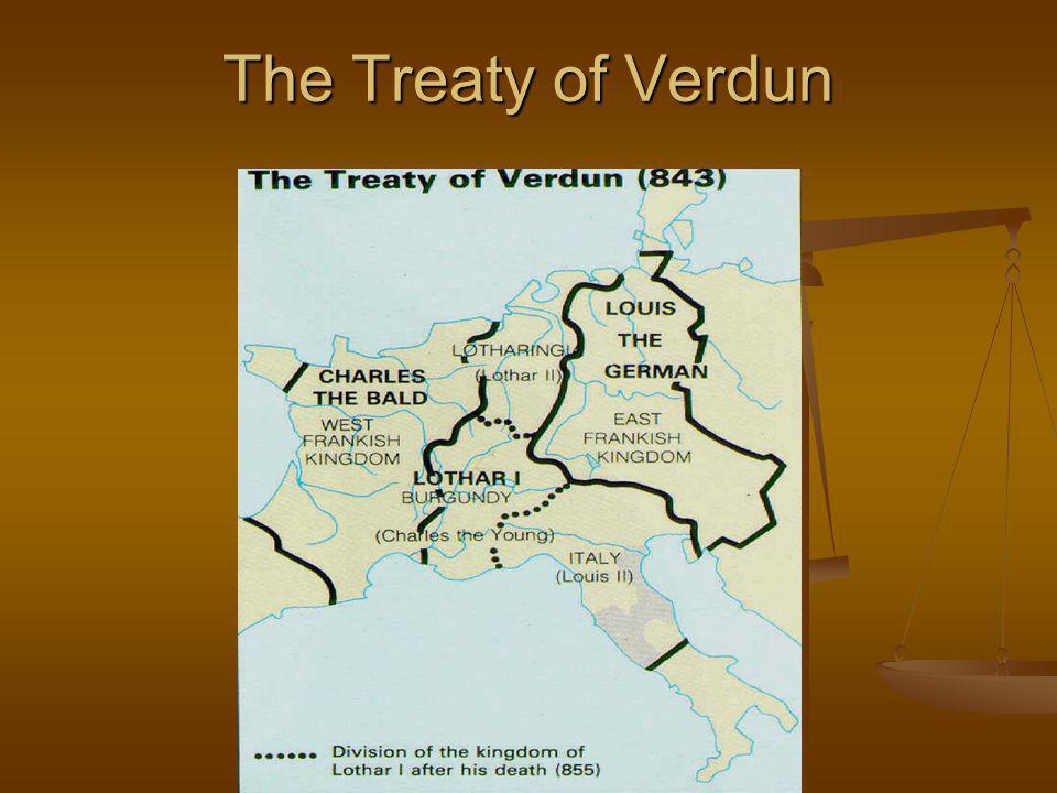 The Treaty of Verdun