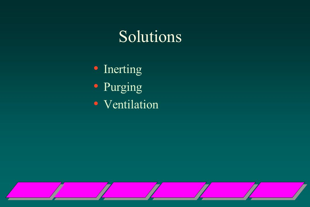 Solutions Inerting Purging Ventilation