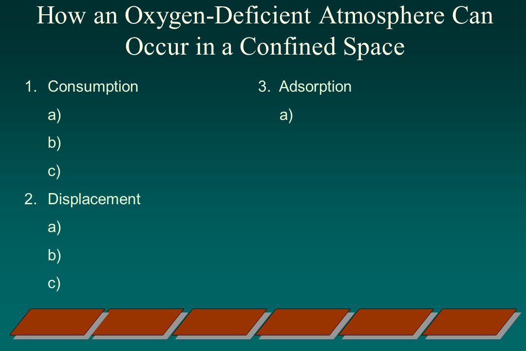 How an Oxygen-Deficient Atmosphere Can Occur in a Confined Space