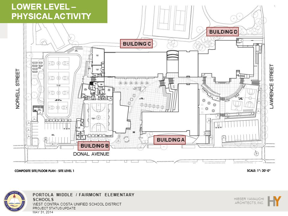 LOWER LEVEL – PHYSICAL ACTIVITY