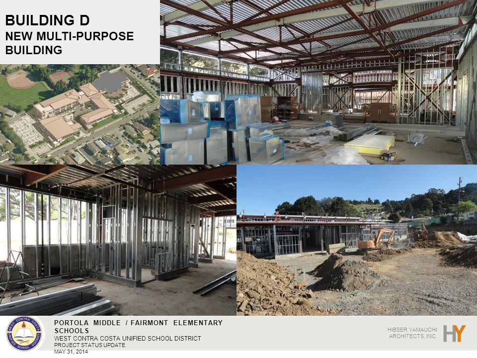 BUILDING D NEW MULTI-PURPOSE BUILDING