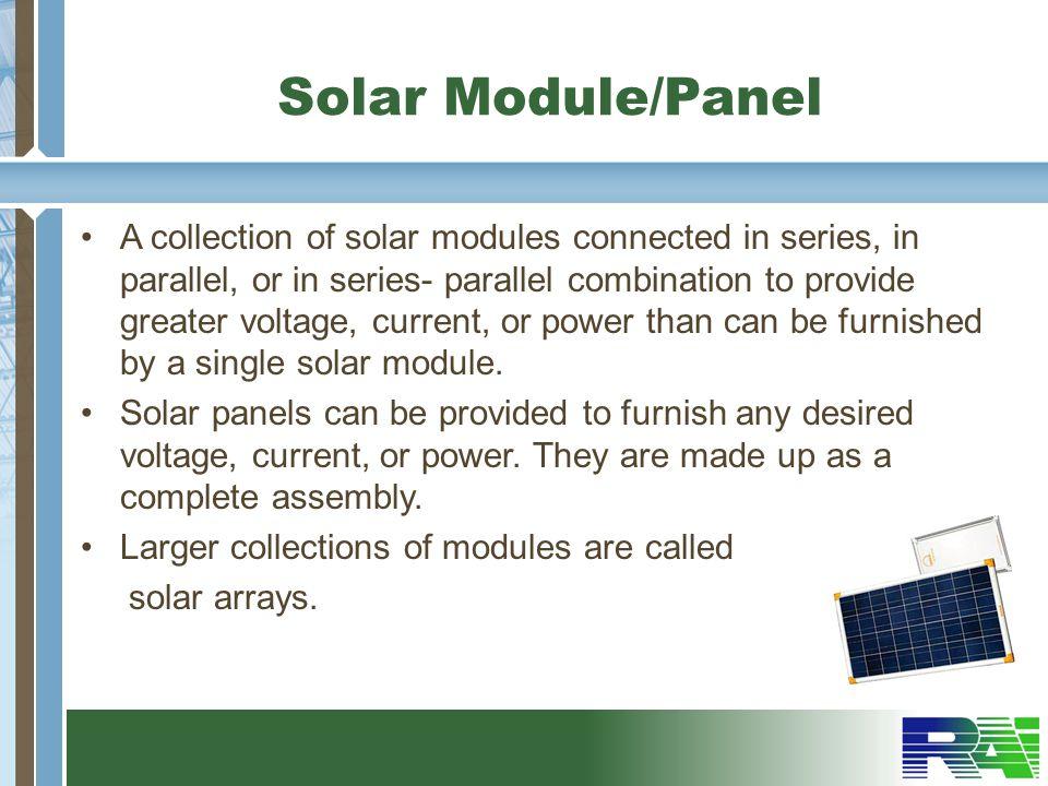 Solar Module/Panel