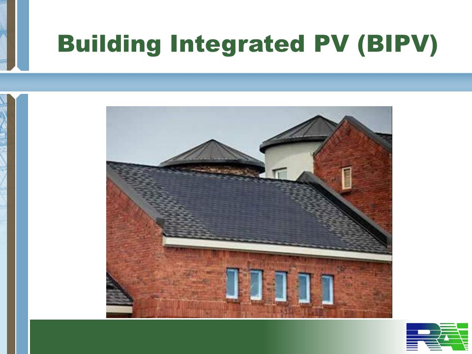Building Integrated PV (BIPV)