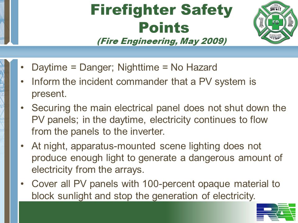 Firefighter Safety Points (Fire Engineering, May 2009)