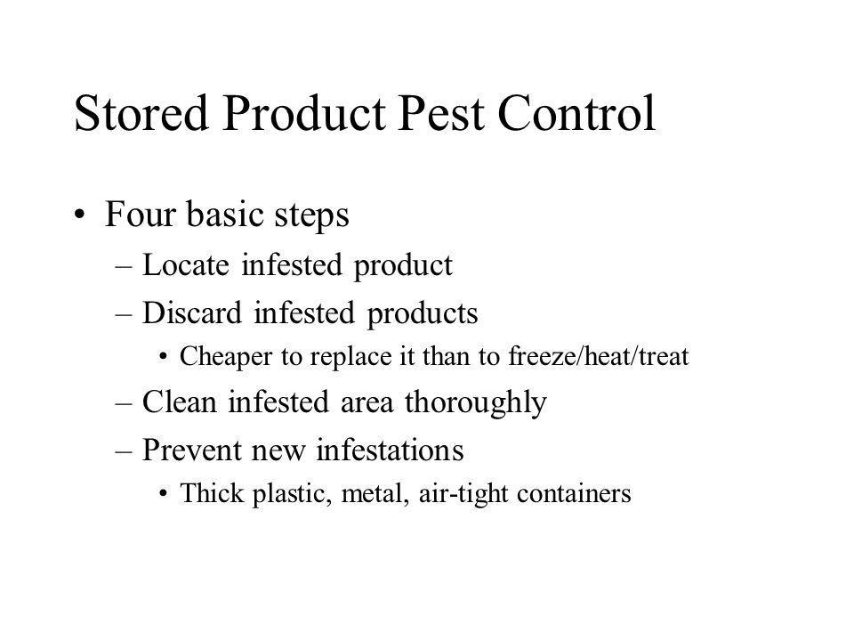Stored Product Pest Control