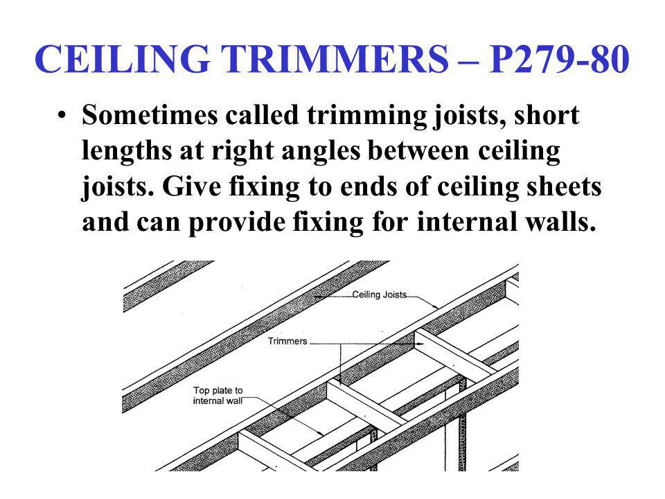 CEILING TRIMMERS – P279-80