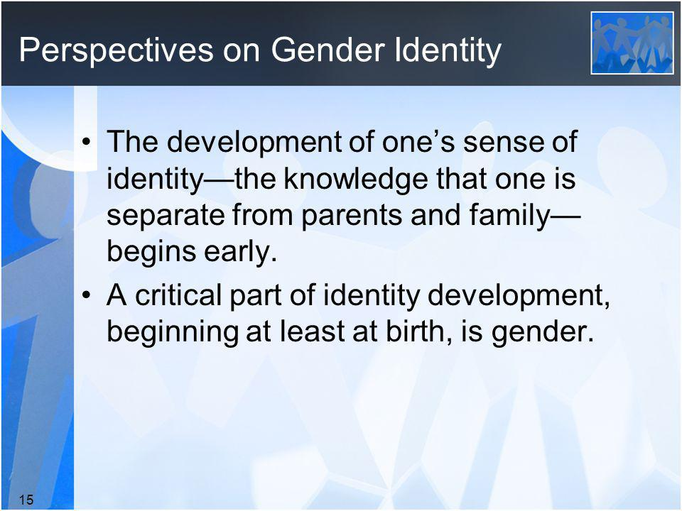 Perspectives on Gender Identity