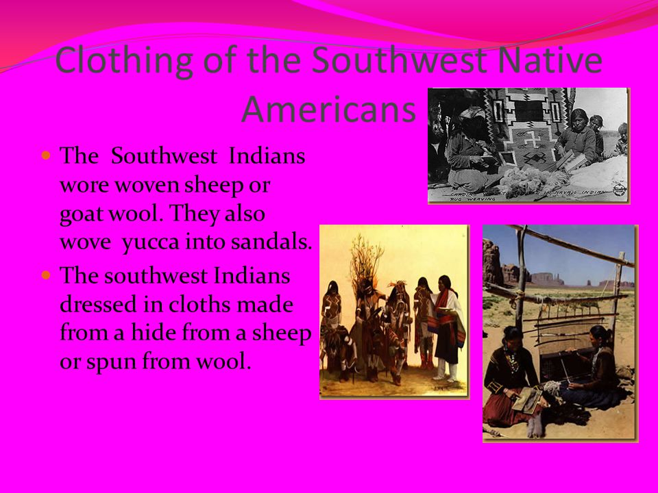 Clothing of the Southwest Native Americans