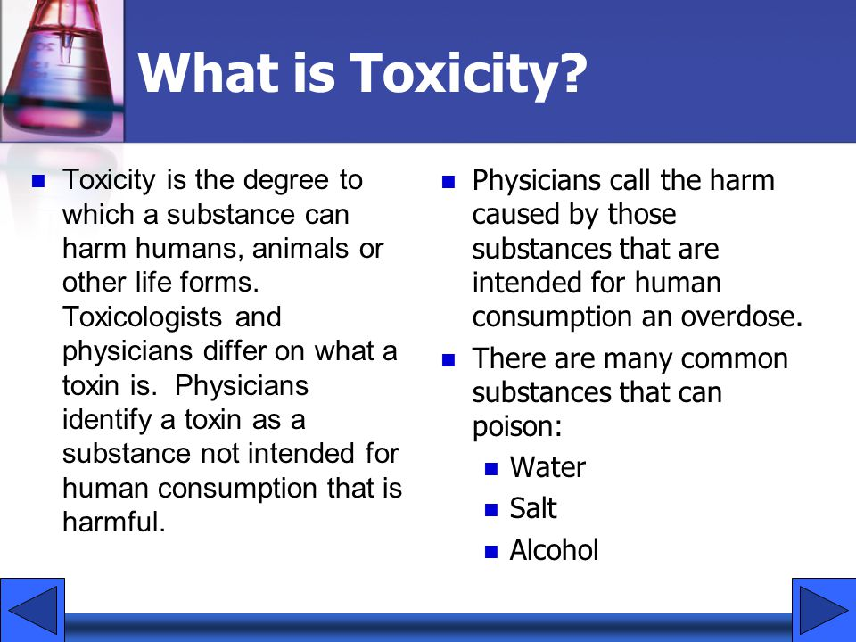 What is Toxicity