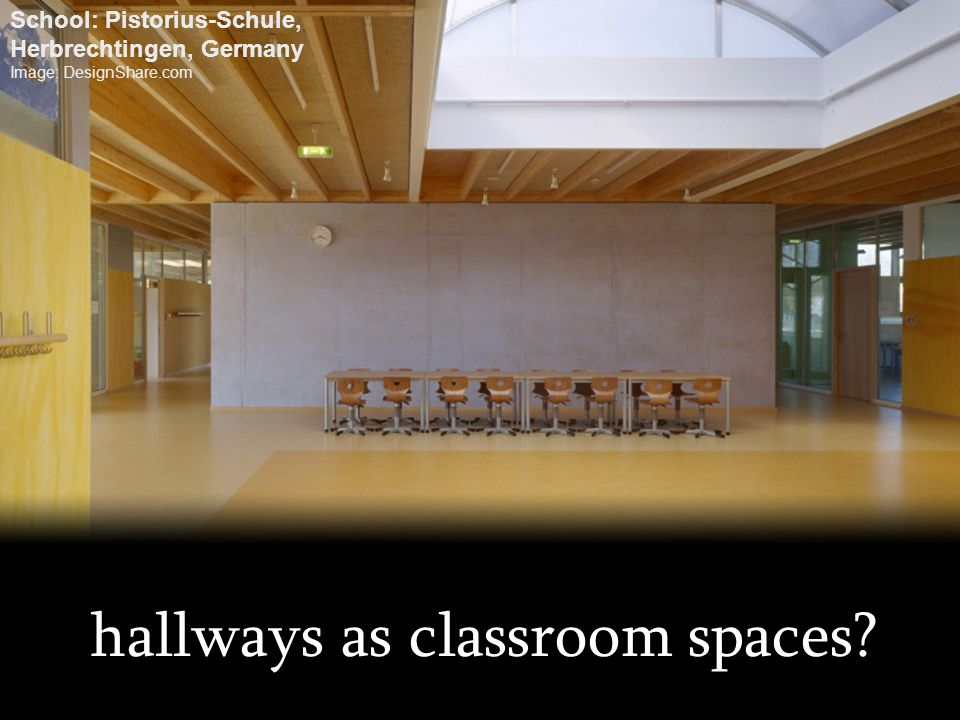 hallways as classroom spaces