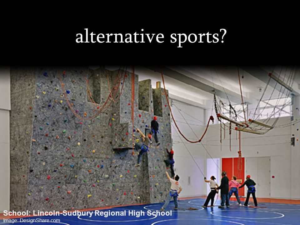 alternative sports School: Lincoln-Sudbury Regional High School