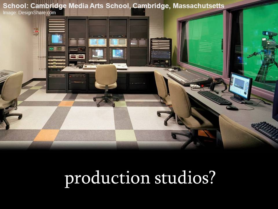 School: Cambridge Media Arts School, Cambridge, Massachutsetts