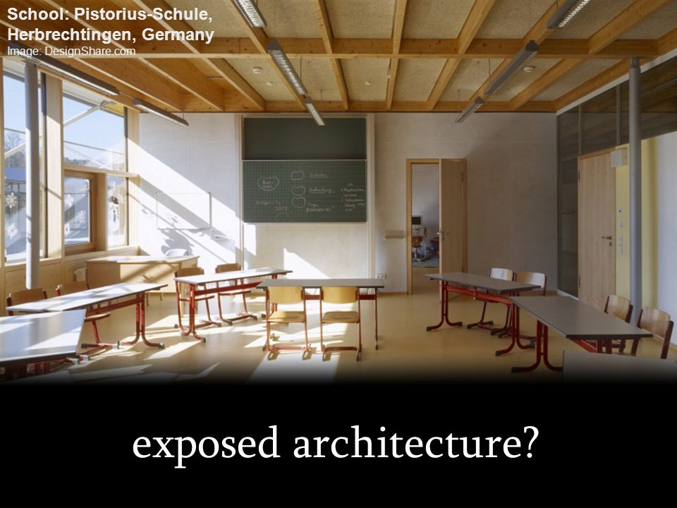 exposed architecture School: Pistorius-Schule,