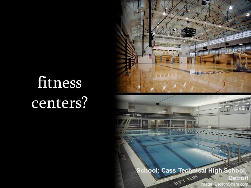 fitness centers School: Cass Technical High School, Detroit