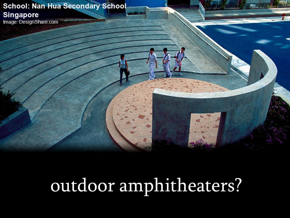 outdoor amphitheaters