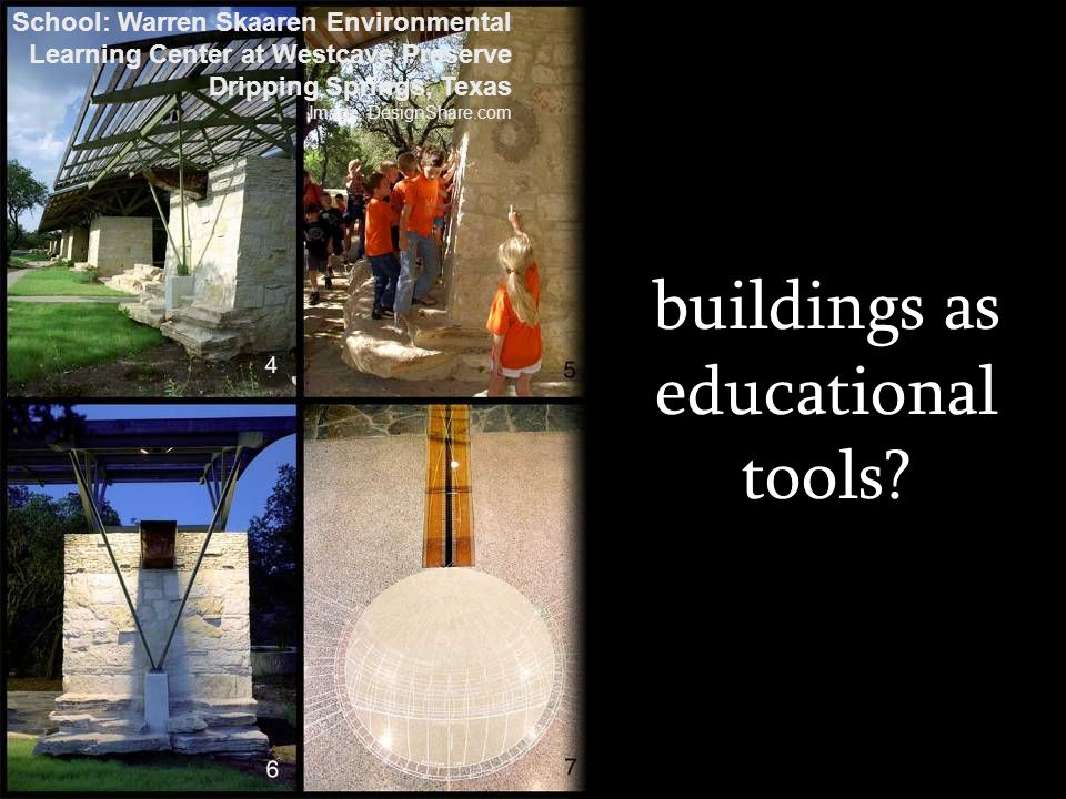 buildings as educational tools