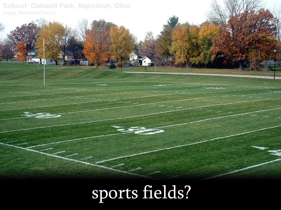 sports fields School: Oakwell Park, Napoleon, Ohio