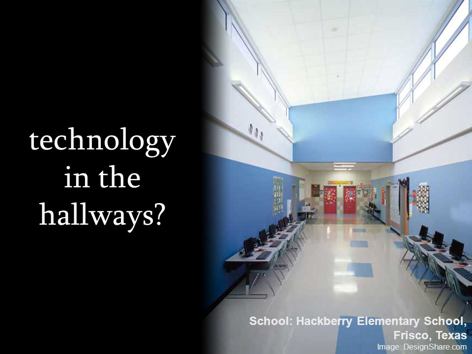 technology in the hallways