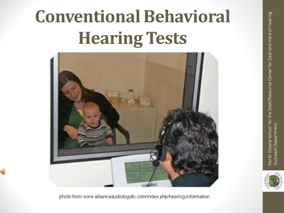 Conventional Behavioral Hearing Tests