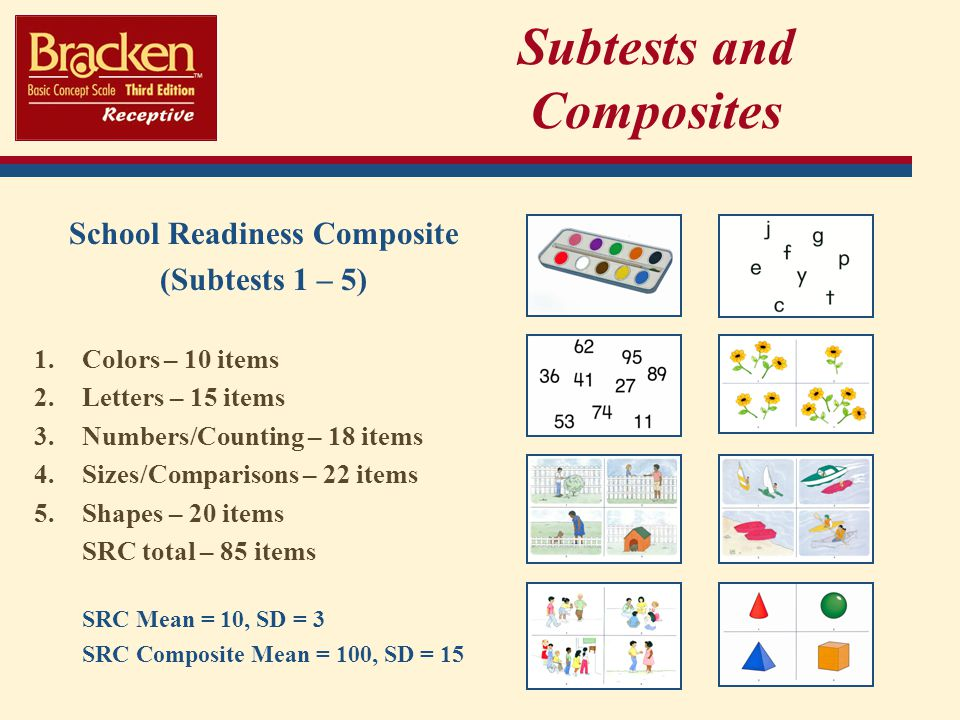 Subtests and Composites