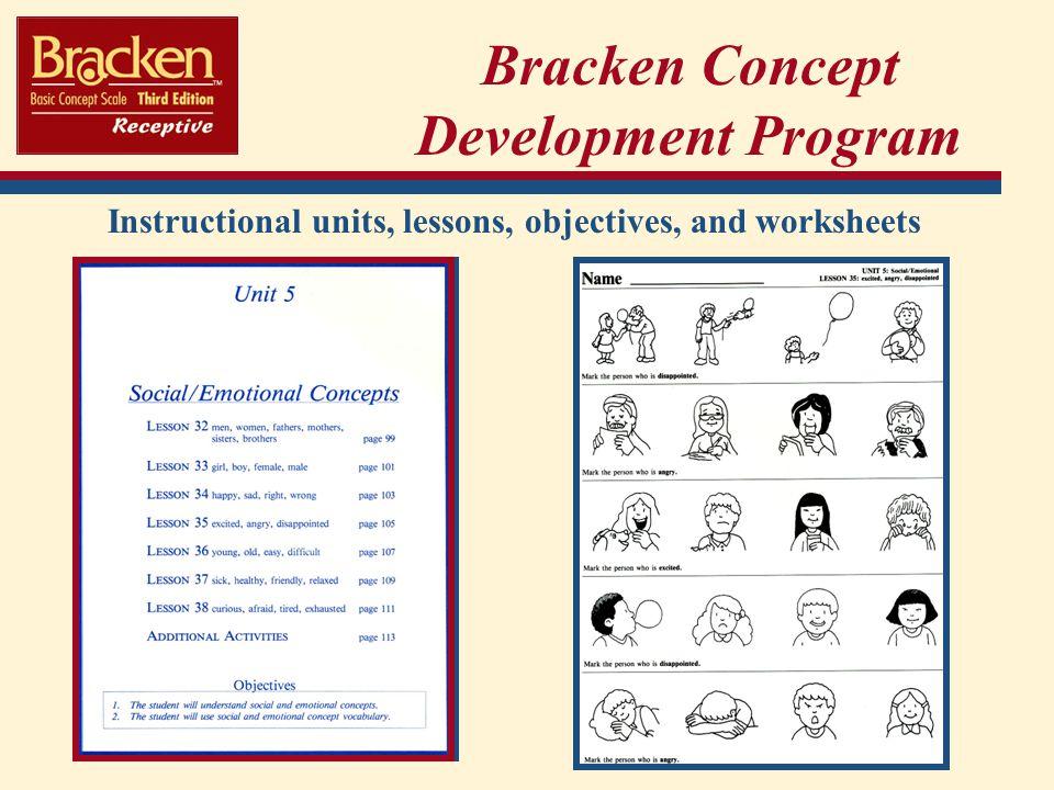Bracken Concept Development Program