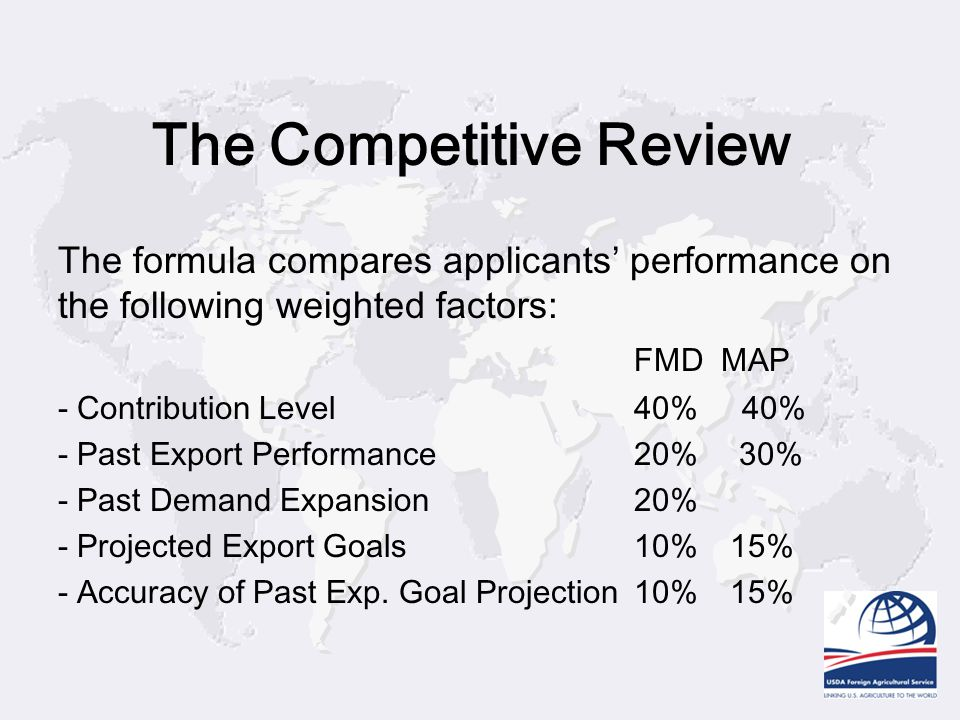 The Competitive Review