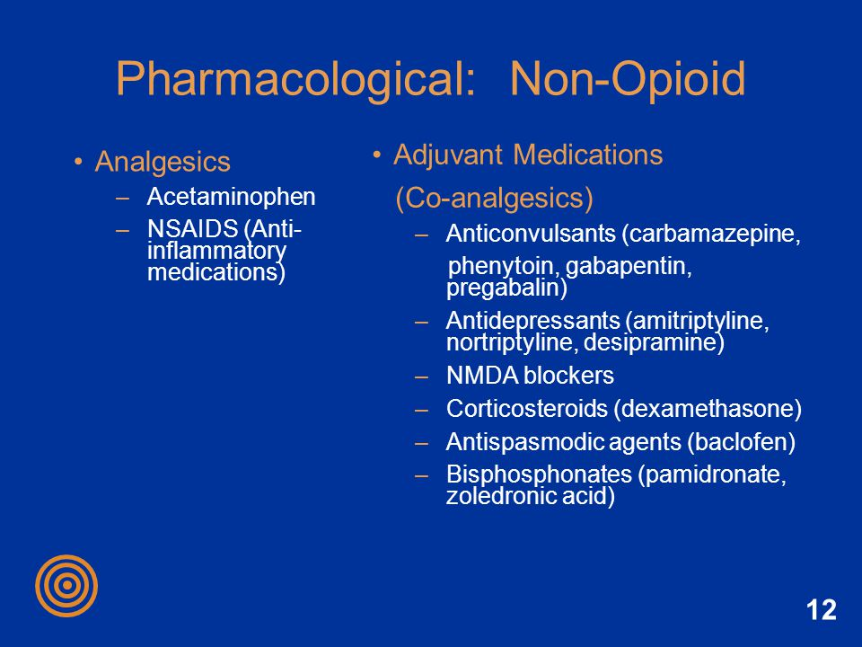 Pharmacological: Non-Opioid