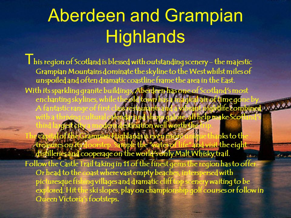 Aberdeen and Grampian Highlands