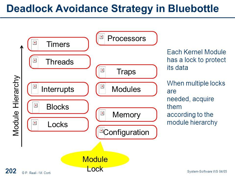 Deadlock Avoidance Strategy in Bluebottle