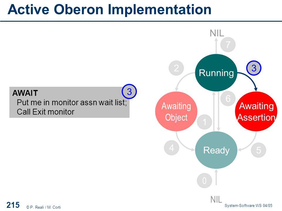 Active Oberon Implementation