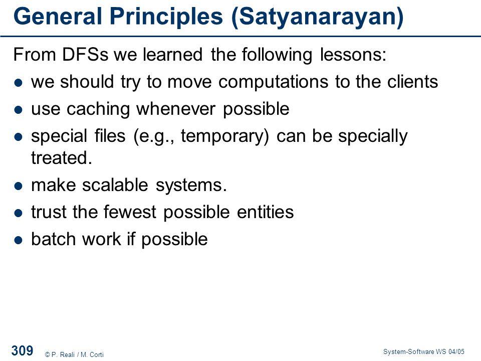 General Principles (Satyanarayan)
