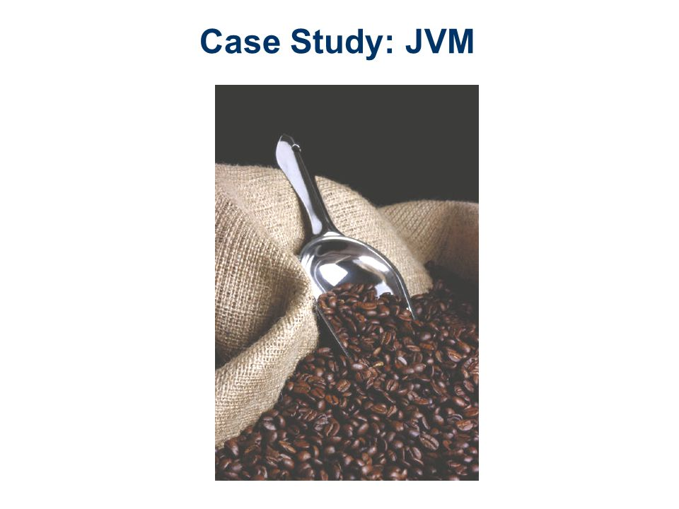 Case Study: JVM