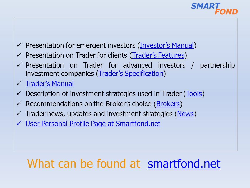 What can be found at smartfond.net