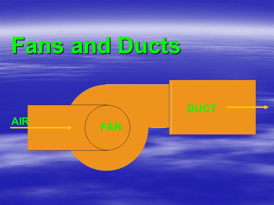 Fans and Ducts DUCT AIR FAN