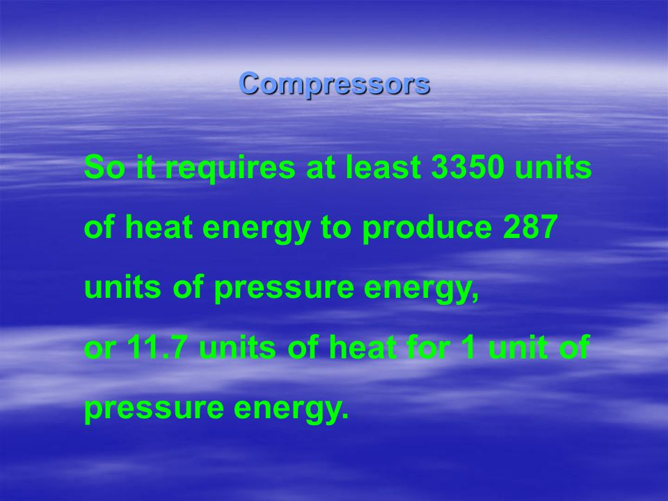 So it requires at least 3350 units of heat energy to produce 287