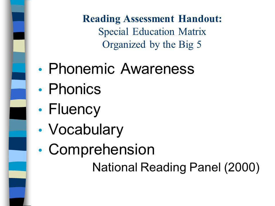 Reading Assessment: GORT- 4 (Gray Oral Reading Test -4) - ppt download