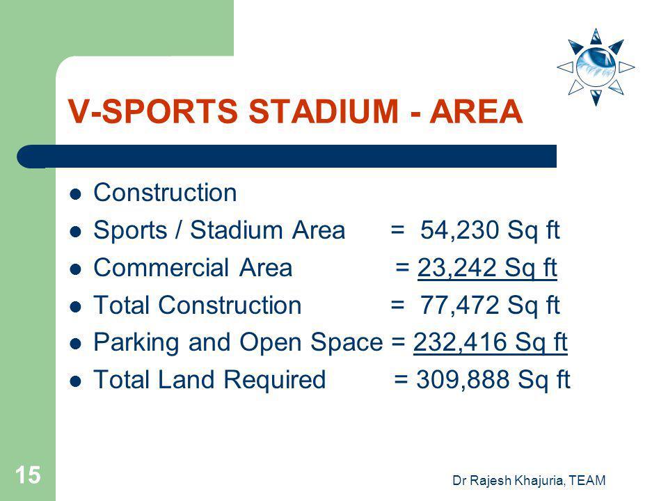 V-SPORTS STADIUM - AREA