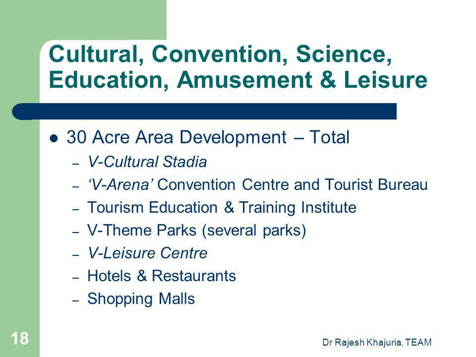 Cultural, Convention, Science, Education, Amusement & Leisure