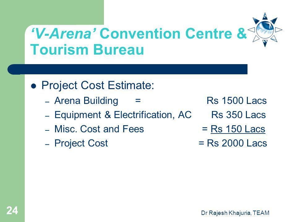 'V-Arena' Convention Centre & Tourism Bureau