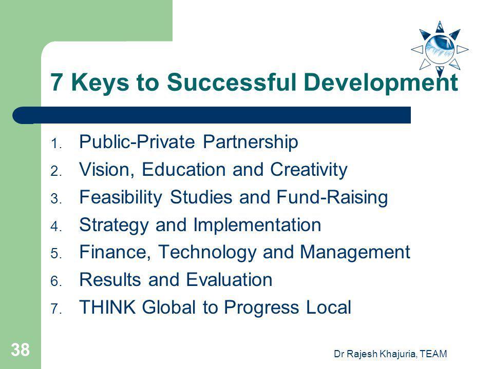 7 Keys to Successful Development