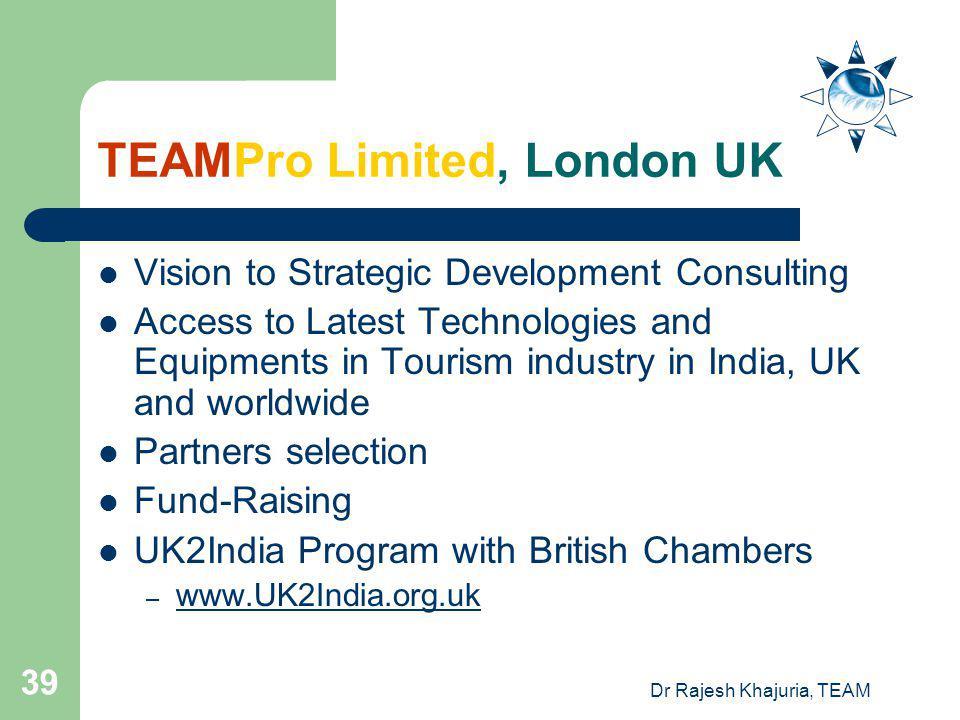 TEAMPro Limited, London UK