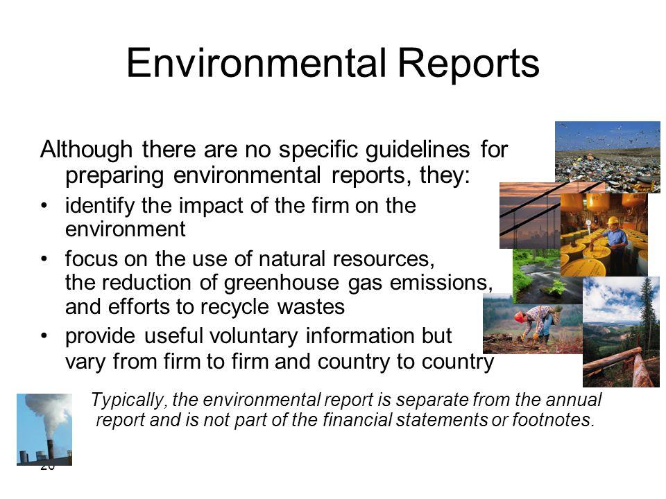 Environmental Reports