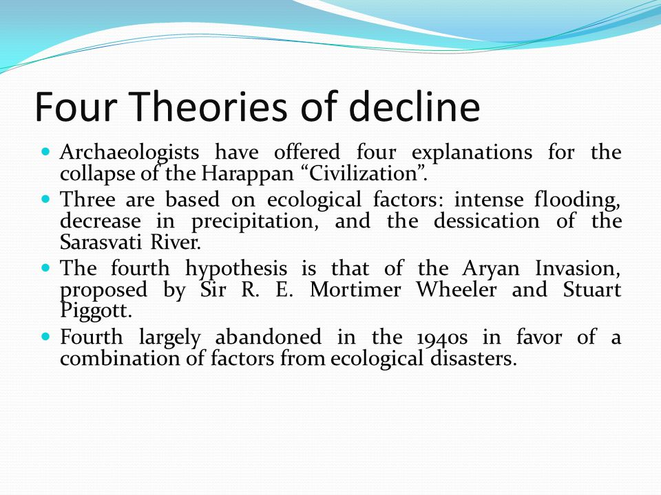 Four Theories of decline