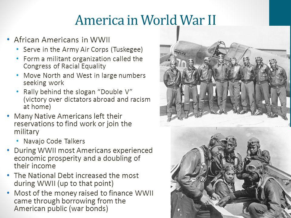 America in World War II African Americans in WWII