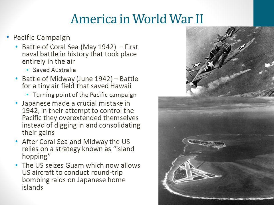 America in World War II Pacific Campaign