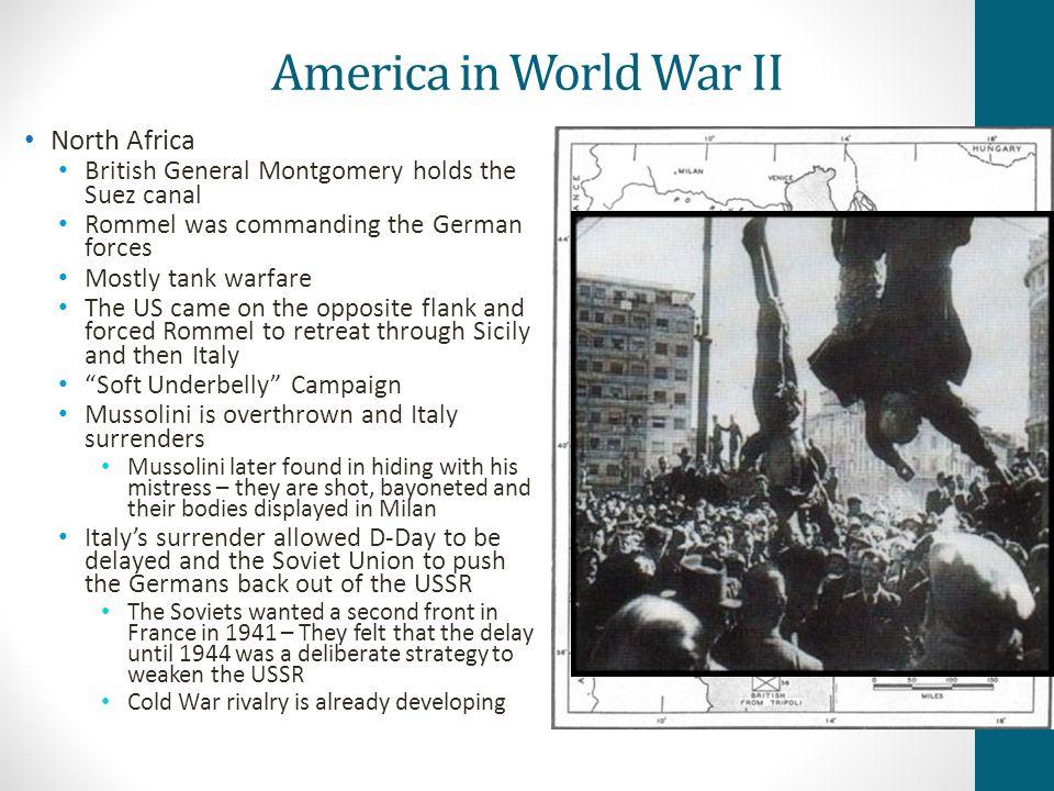 America in World War II North Africa
