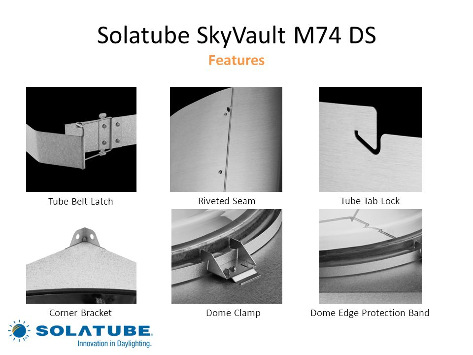 Solatube SkyVault M74 DS Features