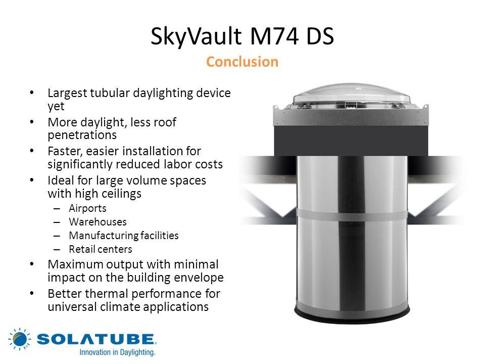 SkyVault M74 DS Conclusion