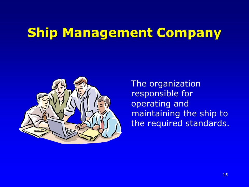 Ship Management Company