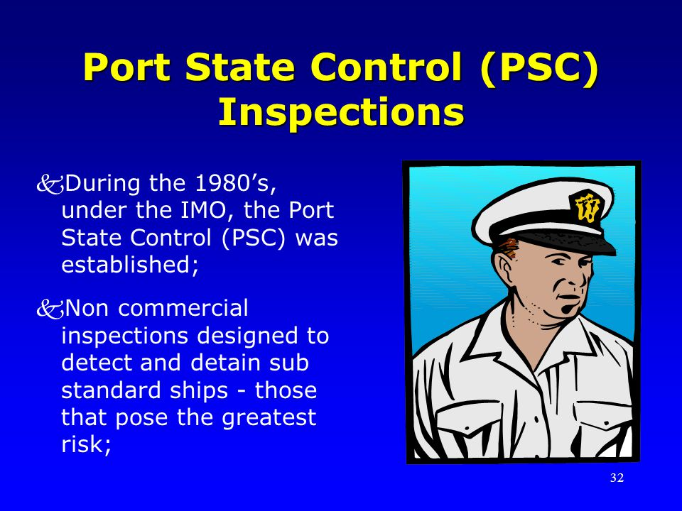 Port State Control (PSC) Inspections